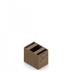 Ionic | Hanging Box/File Pedestal